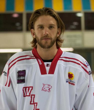 Swindon Wildcats star Alex Symonds