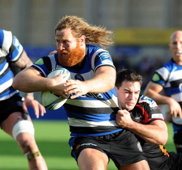 The Wiltshire Gazette and Herald: Bath's Ross Batty
