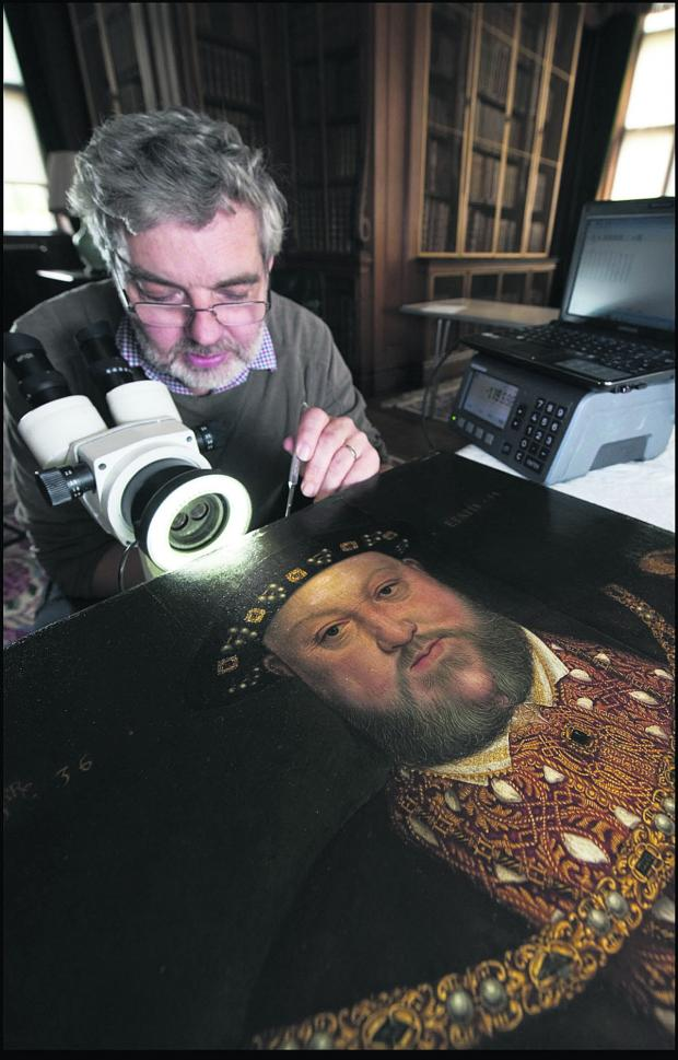The Wiltshire Gazette and Herald: A dendrochronologist examines the Longleat painting