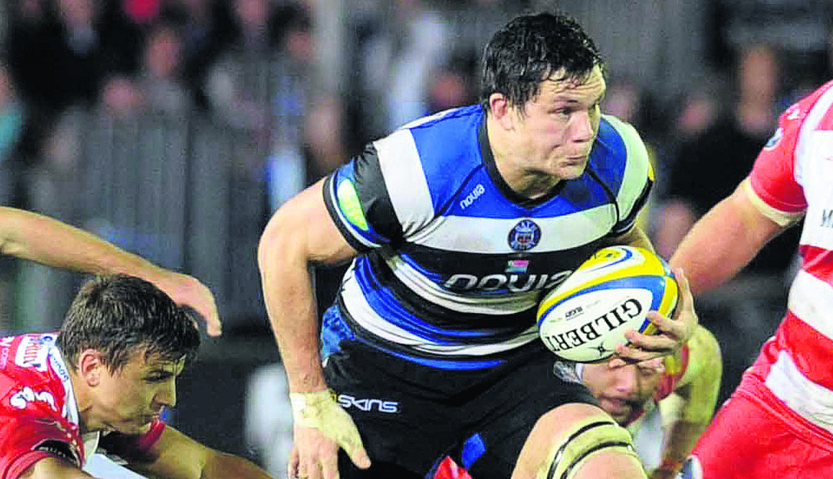 Francois Louw has urged his Bath teammates not to let their standards drop in the run-in  to the end of the season Photo: Bob Ascott