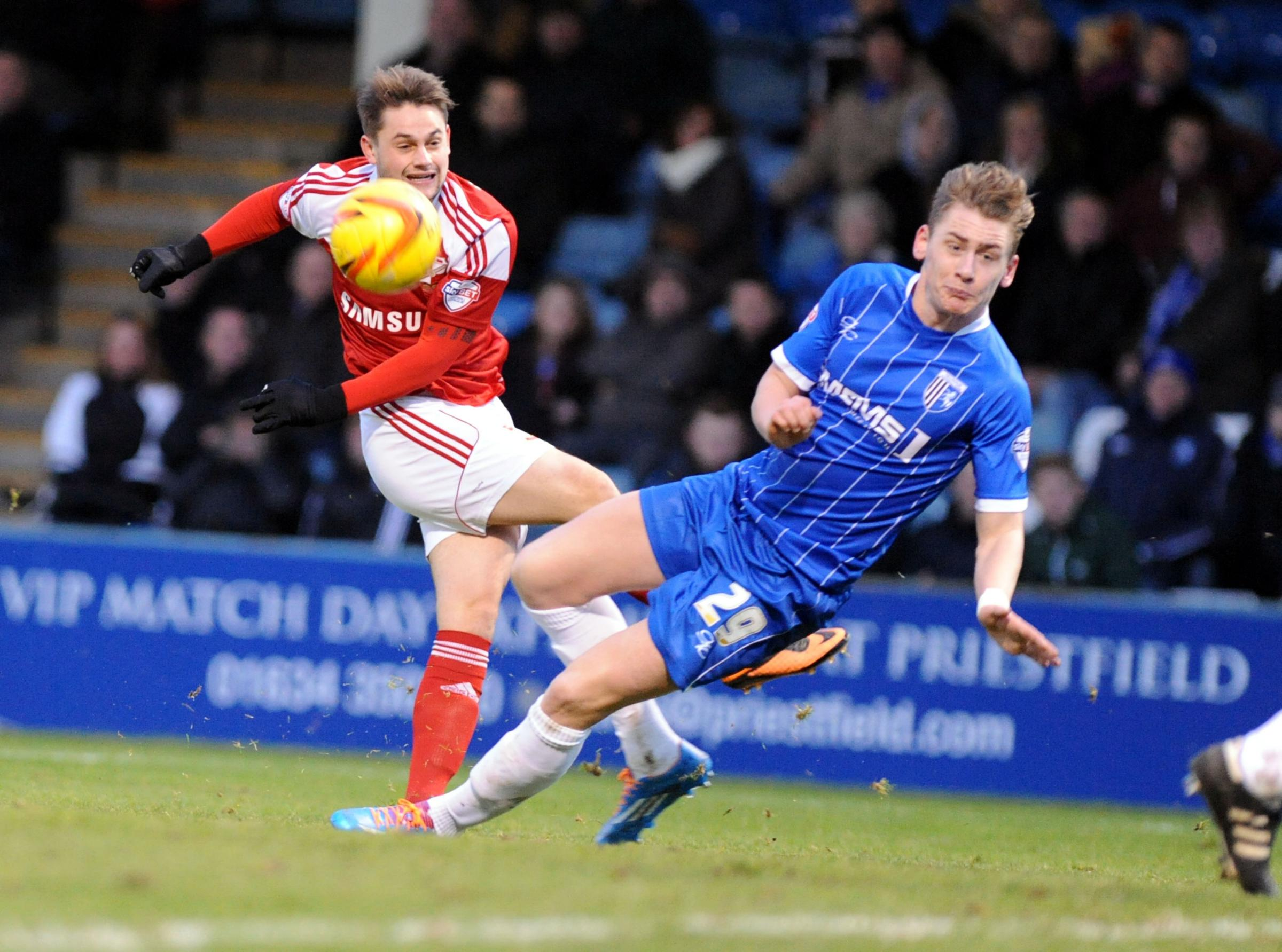 GILLINGHAM 2 SWINDON TOWN 0: Groundhog day for Robins