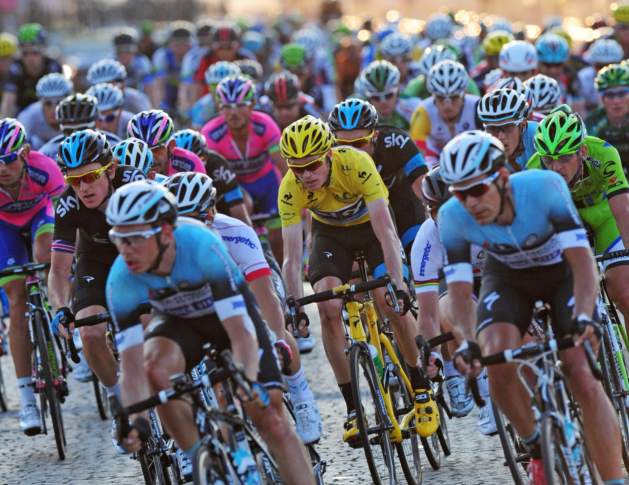 The Tour of Britain will pass through Devizes