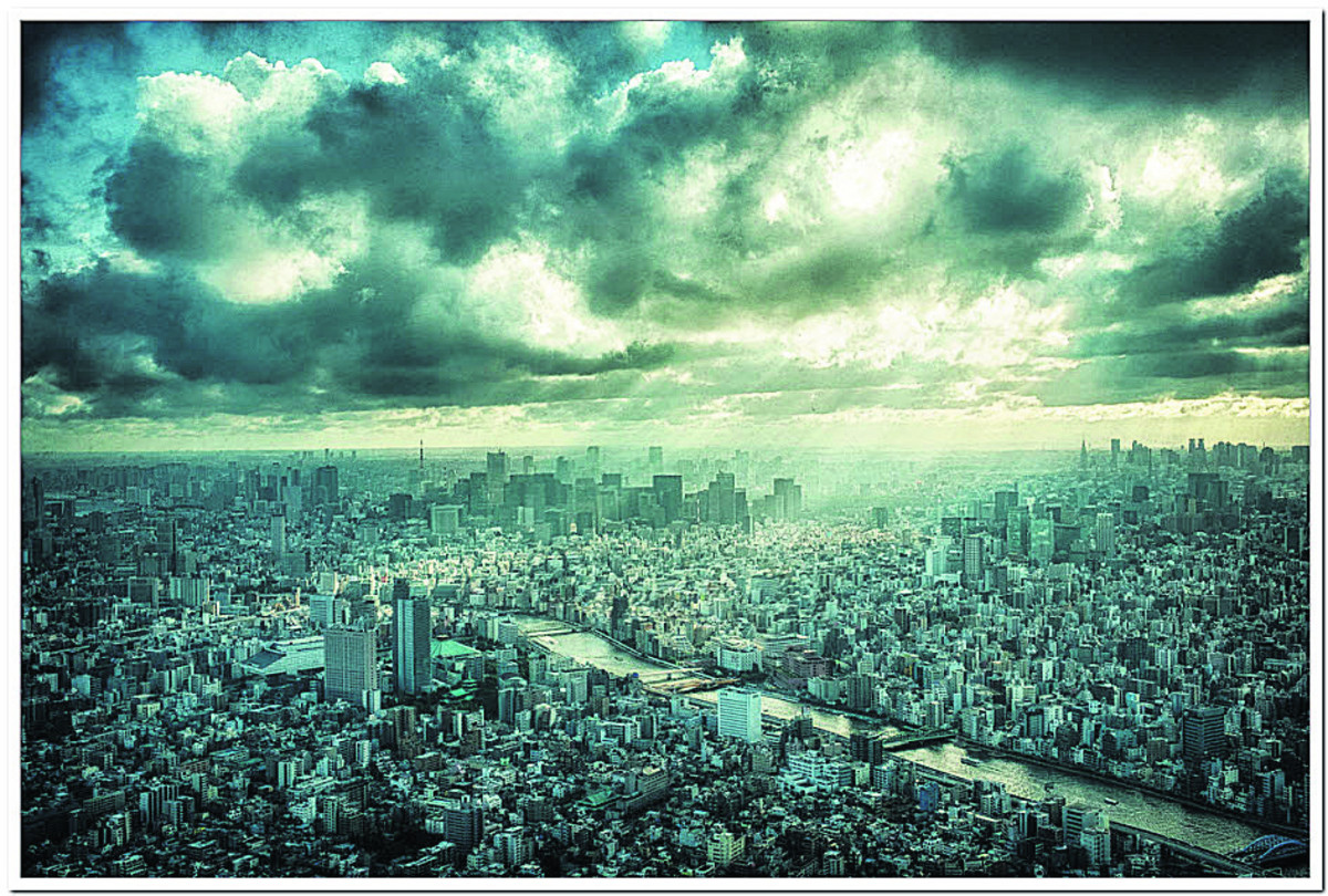 Stunning Tokyo skyline picture seals title for Malmesbury photographer