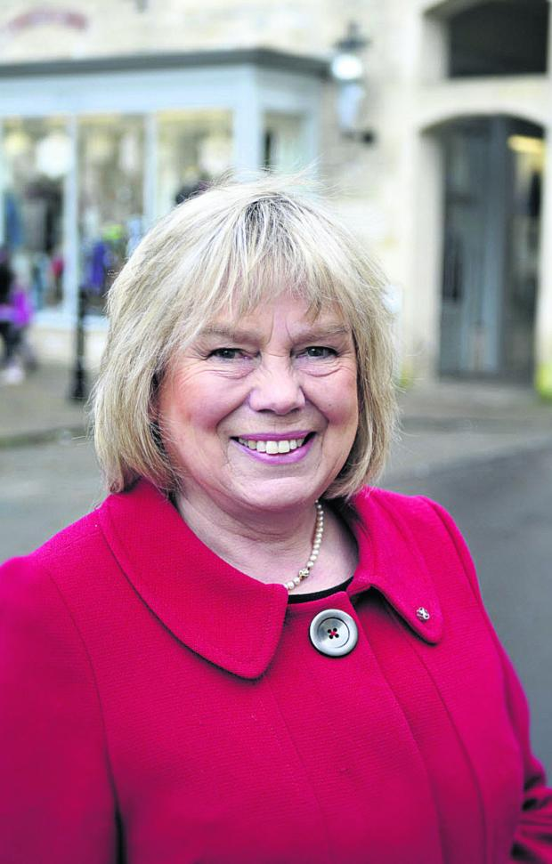 The Wiltshire Gazette and Herald: Coun Jane Scott, leader of Wiltshire Council