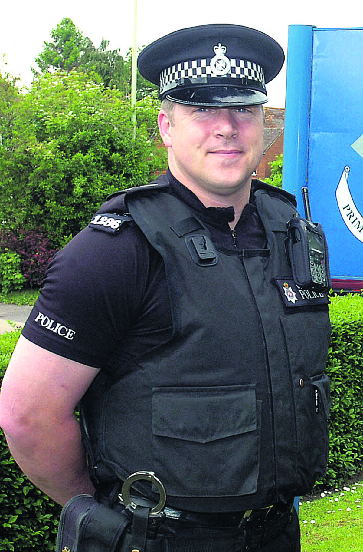 Sgt Barry Reed and his team put out safety messages on social media as part of Operation Dasher
