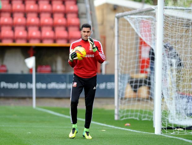 Town's Wes Foderingham