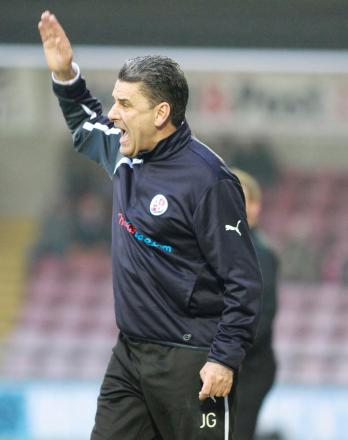 Crawley boss John Gregory