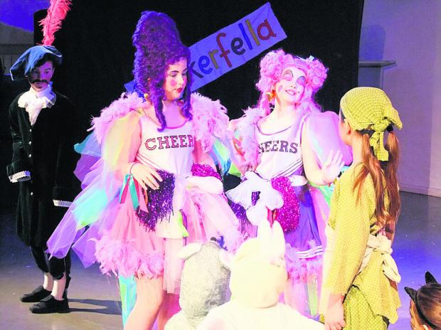 Cinderella & Rockerfella was the pantomime performed by pupils at St Margaret's School in Calne