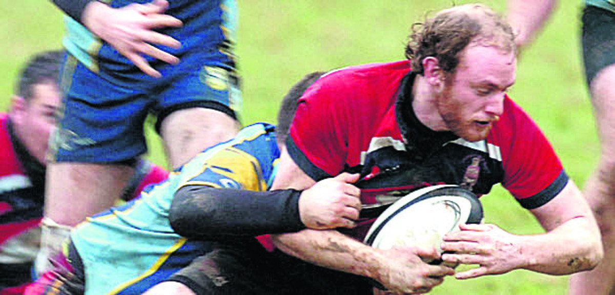 Phil Vallis scored Pewsey's final try