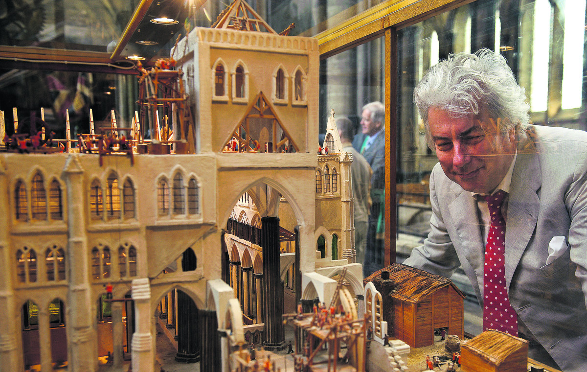 Author Ken Follett will be at Salisbury Cathedral on March 2