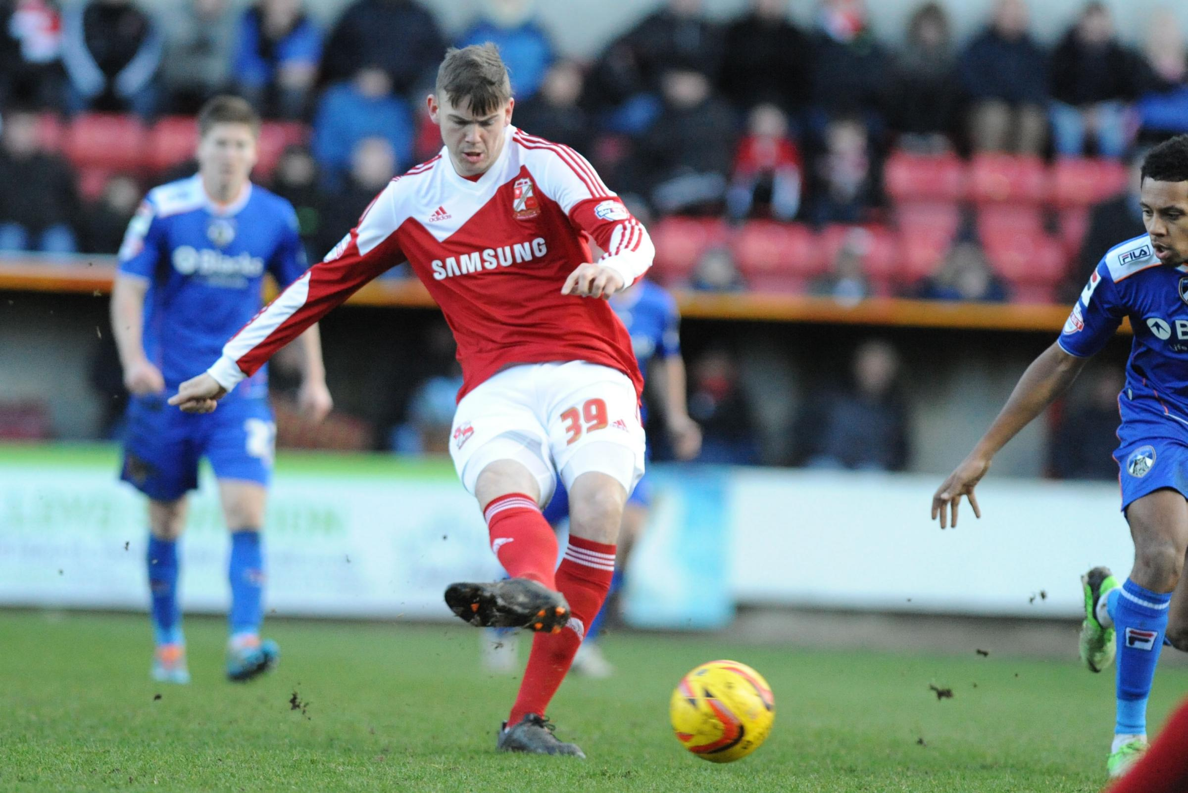 Town midfielder Ben Gladwin needs to simplify his game according his boss Mark Cooper
