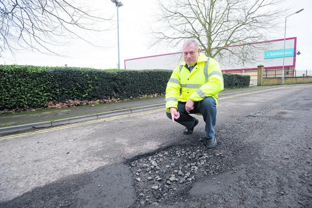 The Wiltshire Gazette and Herald: Wiltshire councillor John Thomson, cabinet member for highways