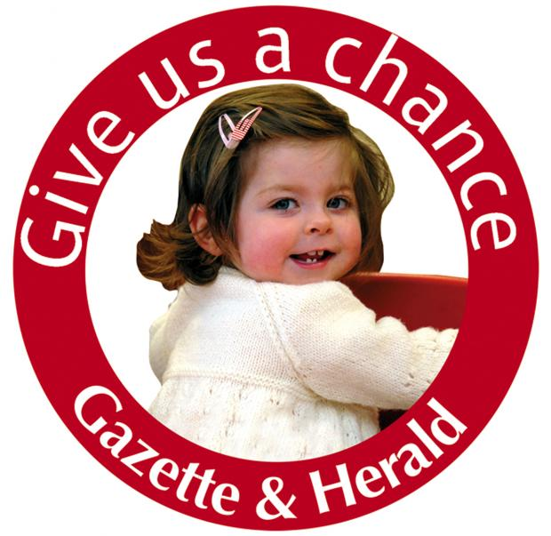 You can do your bit to help the Gazette's Give us a chance appeal