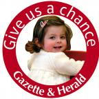 The Wiltshire Gazette and Herald: ou can do your bit to help the Gazette's Give us a chance appeal