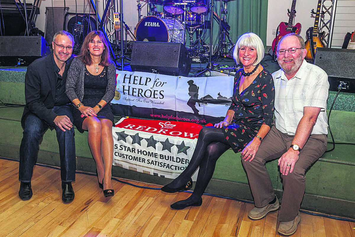 Sutton Benger music night supports Help for Heroes