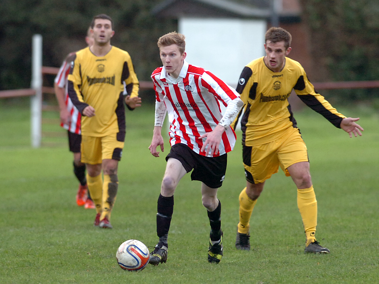 Mark Barnes scored for Devizes Town but the Nursteed Road side were beaten 4-1 last weekend