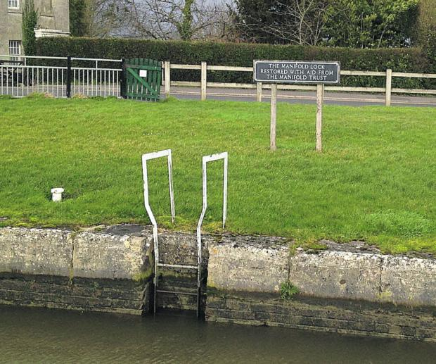 Lock gates on the Caen Hill flight in Devizes have been restored