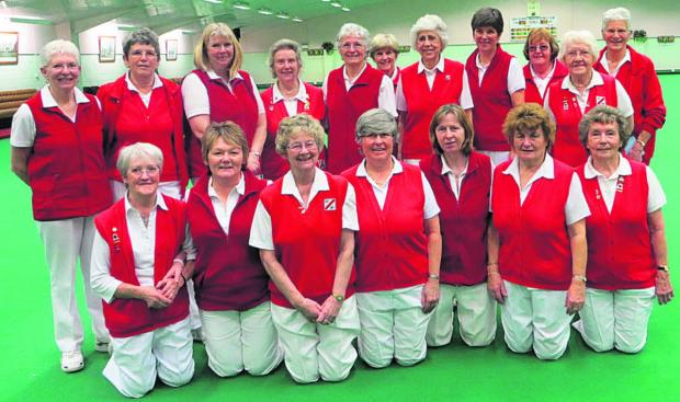 North Wilts Ladies' Yetton Plate team