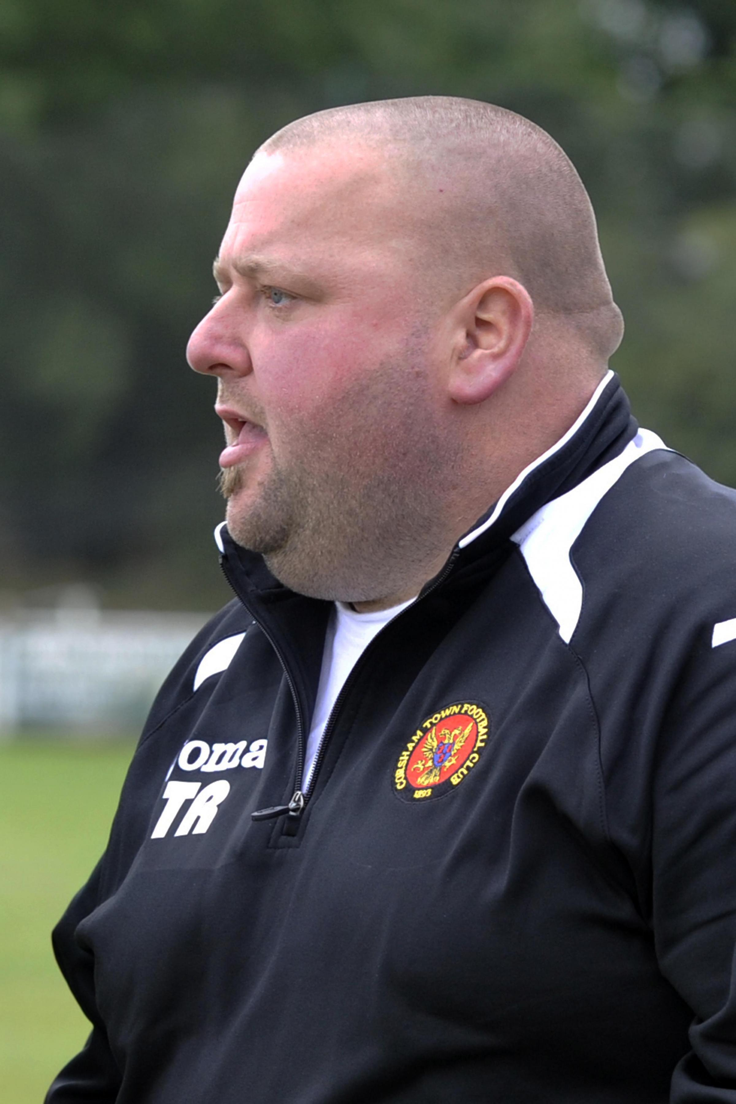 Corsham Town chief Trevor Rawlings