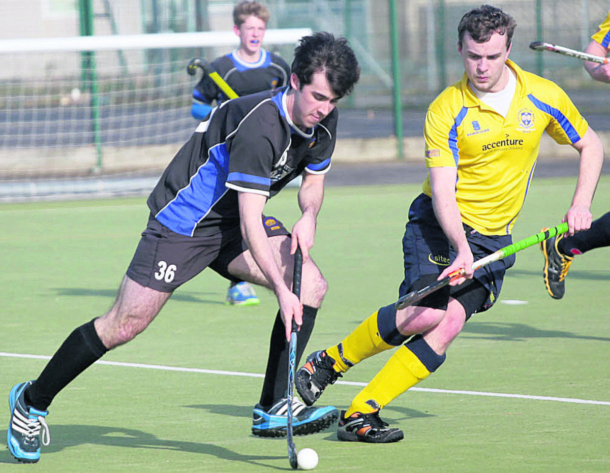 Devizes' Callum Lavens starts an attack during his side's thumping win over Bath Buccs D on Saturday