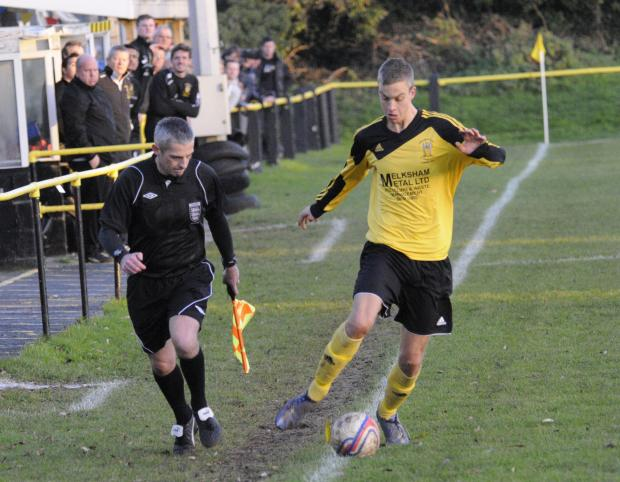 Gary Higdon was amongst the goals for Melksham Town last weekend