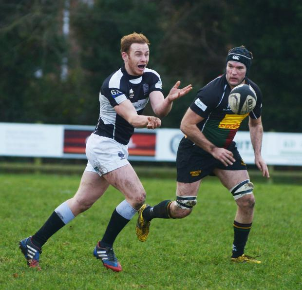 Rory Brown kicked five points for Devizes