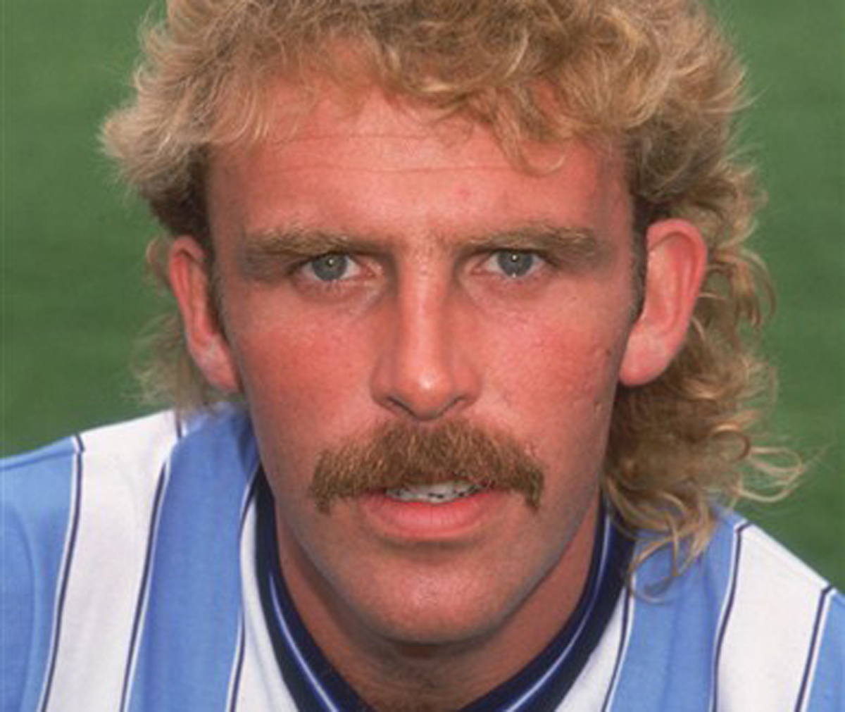 Brian Kilcline - former Town defender and king of all things hirsute (see number 8)