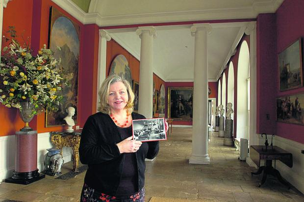 The Wiltshire Gazette and Herald: Curator Jo Johnston in the Orangery
