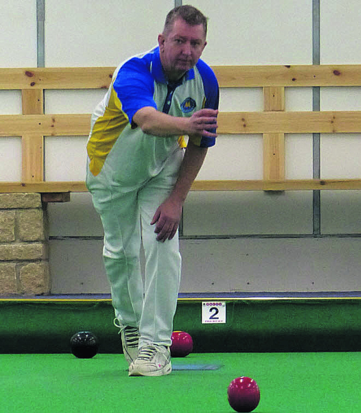 Danny Dennison, from the Torquay United club, is ranked fourth, the highest Planetbowls player at the Cl