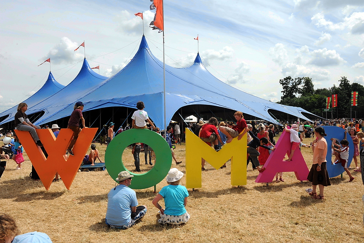 Catering will be of an even higher standard at the WOMAD festival this year
