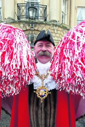 Devizes' dancing mayor Pete Smith
