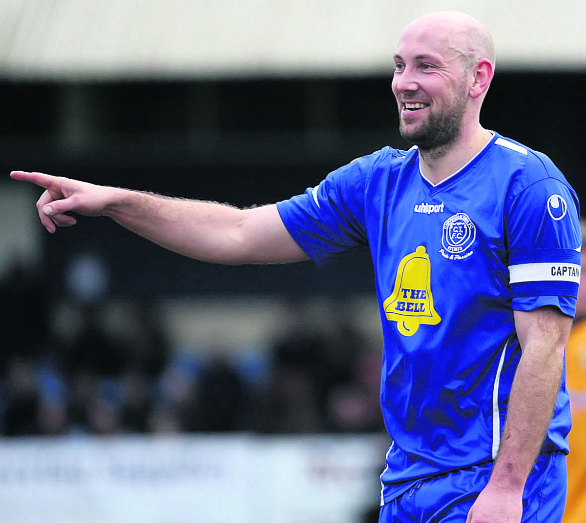 Alan Griffin netted for Chippenham Town