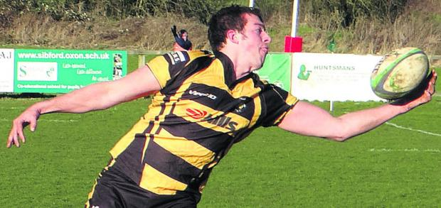 Marlborough captain Jamie Pittams saw his side's hopes of a Twickenham final ended emphatically at the hands of Longlevens