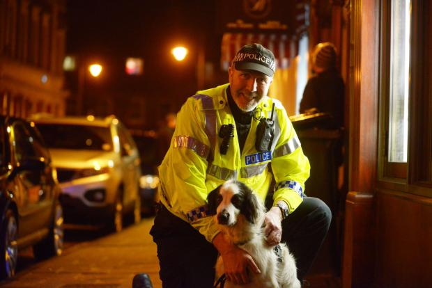 The Wiltshire Gazette and Herald: Drug-sniffer dogs will be on patrol at Stonehenge for the summer solstice celebrations