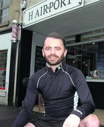 Chippenham hairdresser Isaac Shaw, who has made a remarkable recovery from serious head injuries, completed Bath Half Marathon