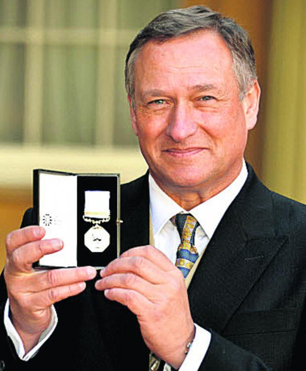 The Wiltshire Gazette and Herald: Explorer David Hempleman-Adams says his Polar Medal is better than a knighthood