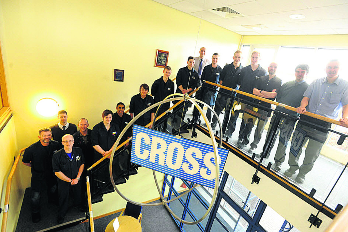 Cross Manufacturing apprentices past and present