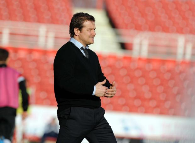 The Wiltshire Gazette and Herald: Swindon Town manager Mark Cooper