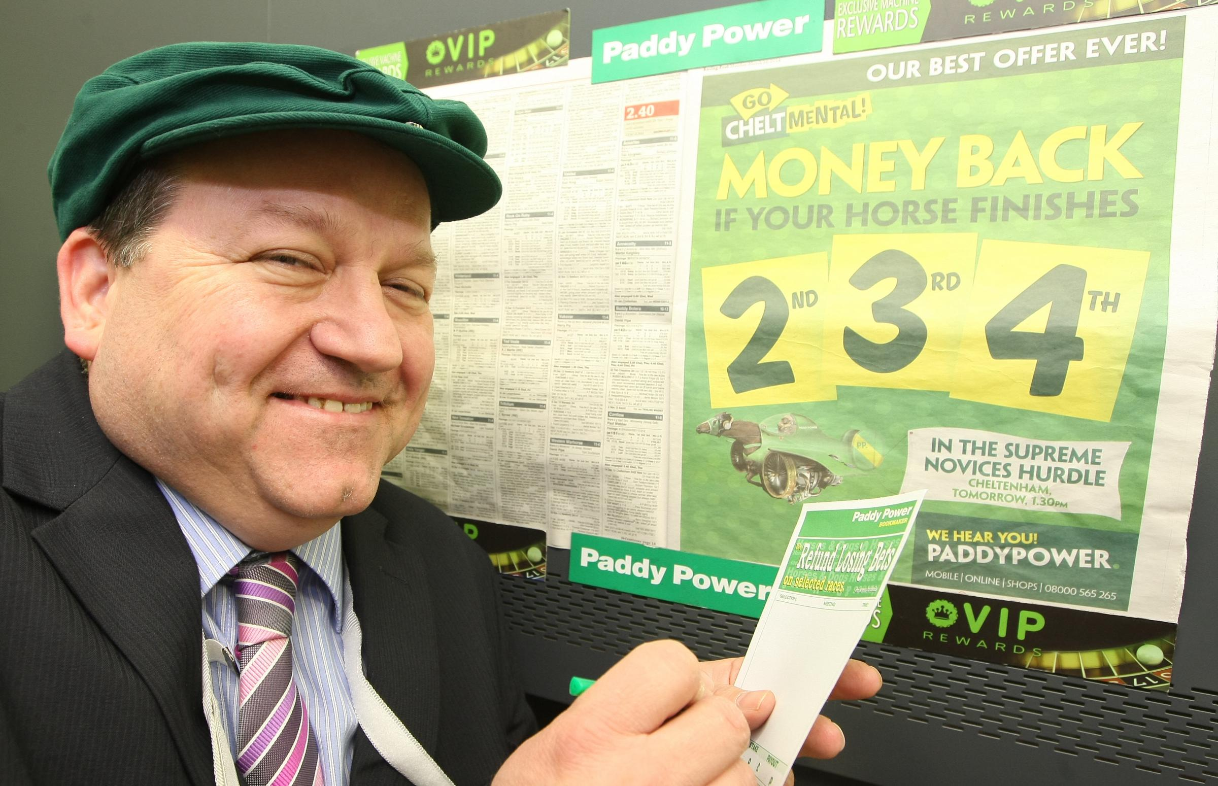 Adver tipster Dave Veysey