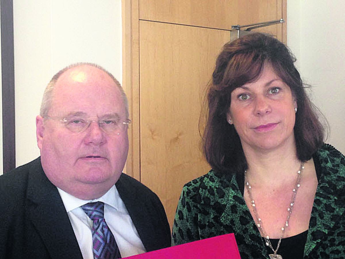 Claire Perry and Eric Pickles