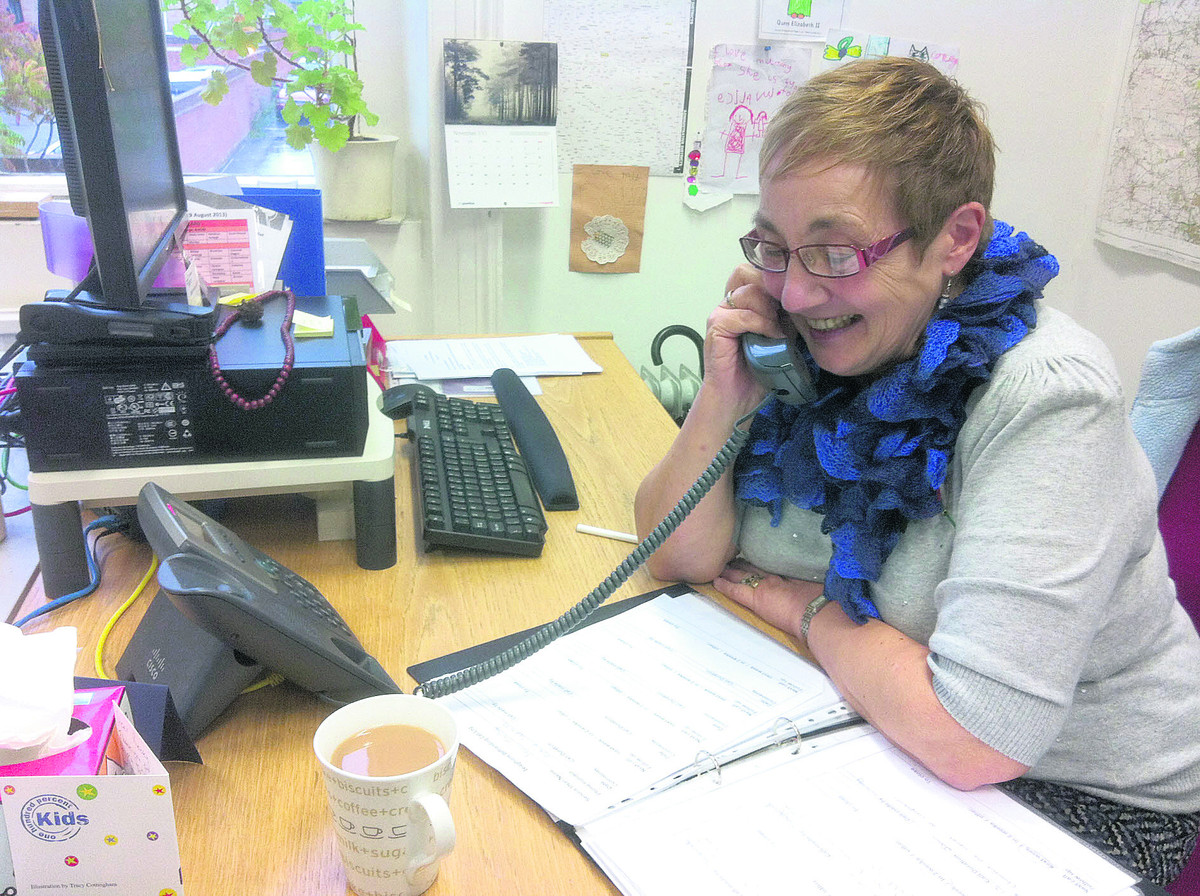 Margaret Pigg volunteered for Age UK while living in Kent and became a befriender after moving to Wiltshire in 2010