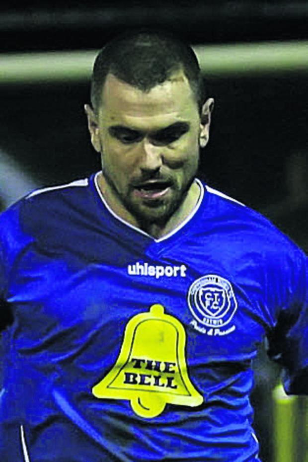 The Wiltshire Gazette and Herald: Lee Phillips scored and was sent off for Chippenham at Truro