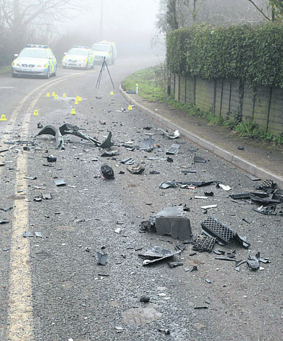 Wiltshire woman who died in crash near Calne is named
