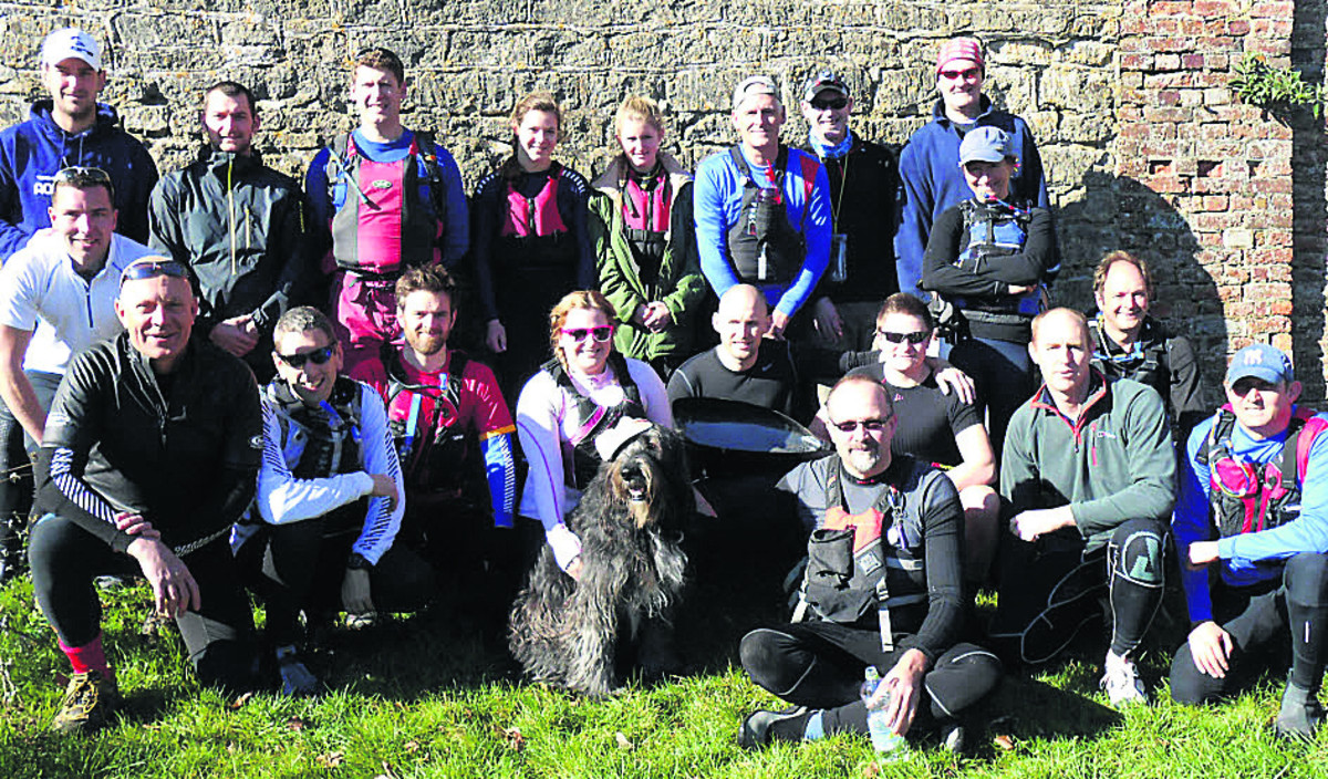 Devizes Canoe Club entrants in this year's Devizes to Westminster