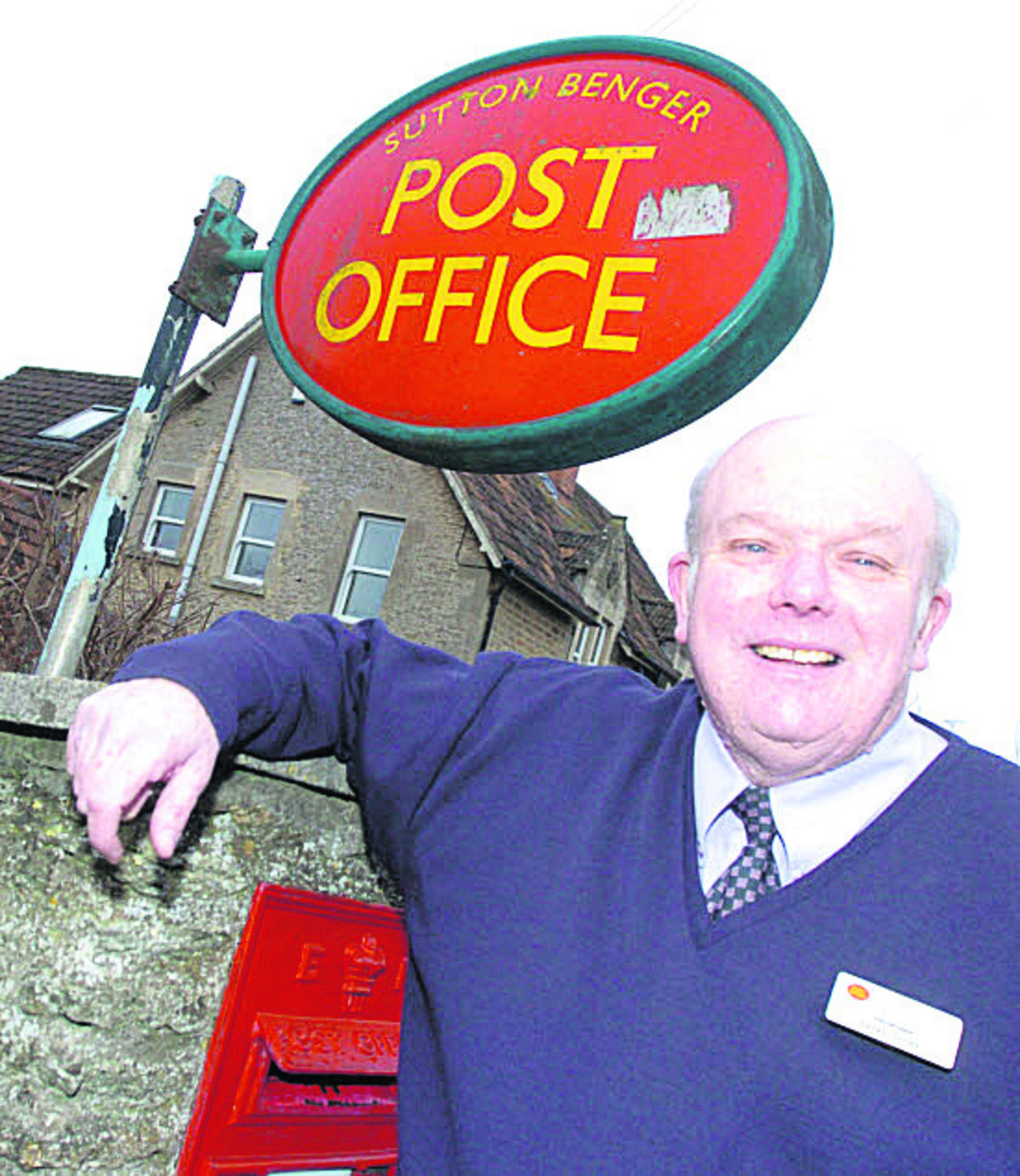 Sutton Benger postmaster Peter Smith is retiring and there will be a new-look branch in the High Street