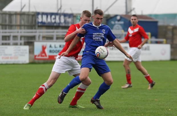 Mark Robinson grabbed both goals as Chippenham Park beat Chard Town 2-0 last weekend