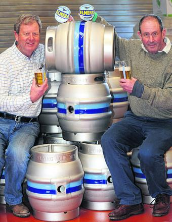 Find out about Malmesbury's new Flying Monk Brewery at a street fair celebrating the life of St Aldhelm on Monday