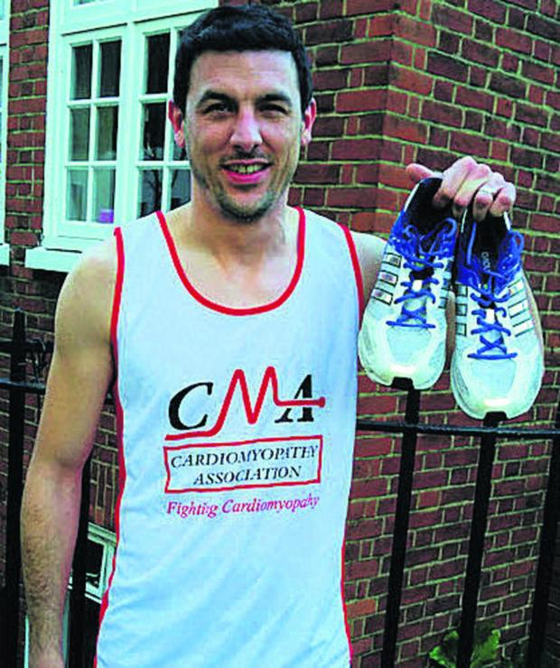 The Wiltshire Gazette and Herald: Tom Mason is to run the London Marathon on April 13