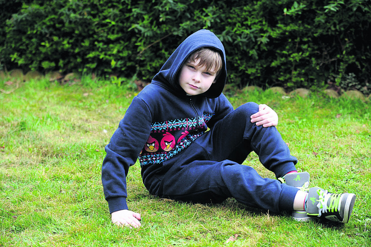 Chippenham boy dons onesie for autism charity