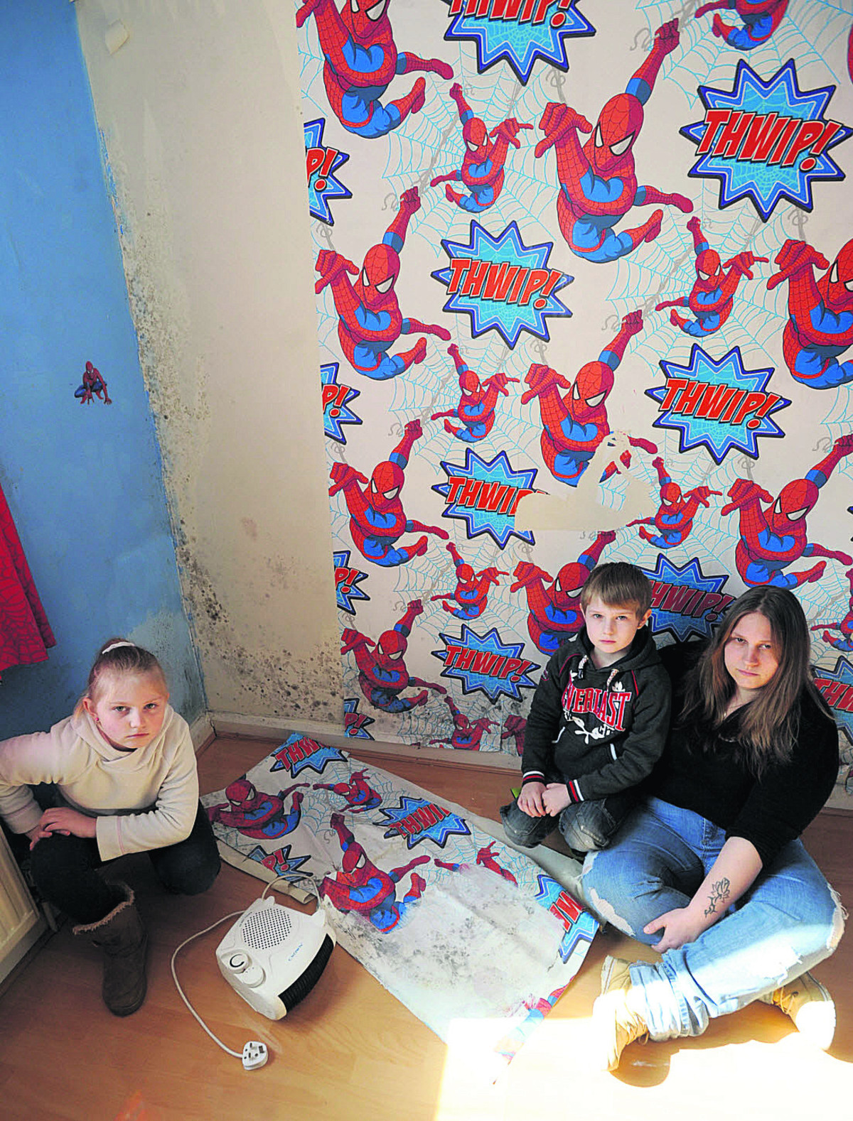 Our mouldy, damp house is making me and my children ill